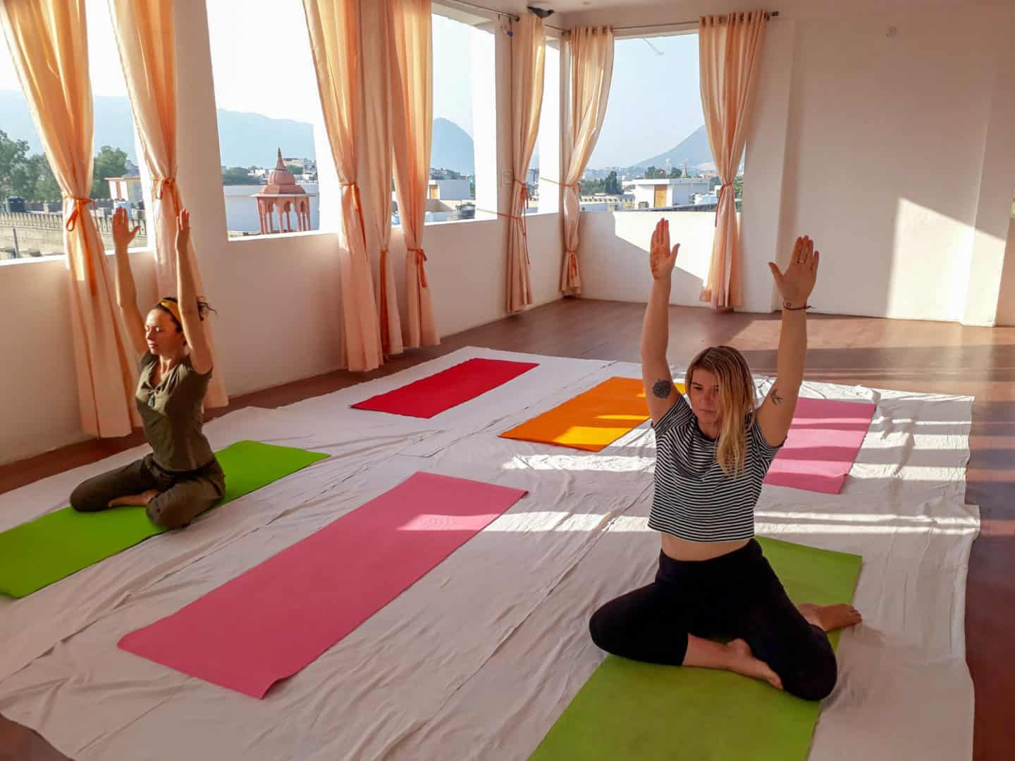 things to do in Pushkar yoga and meditation