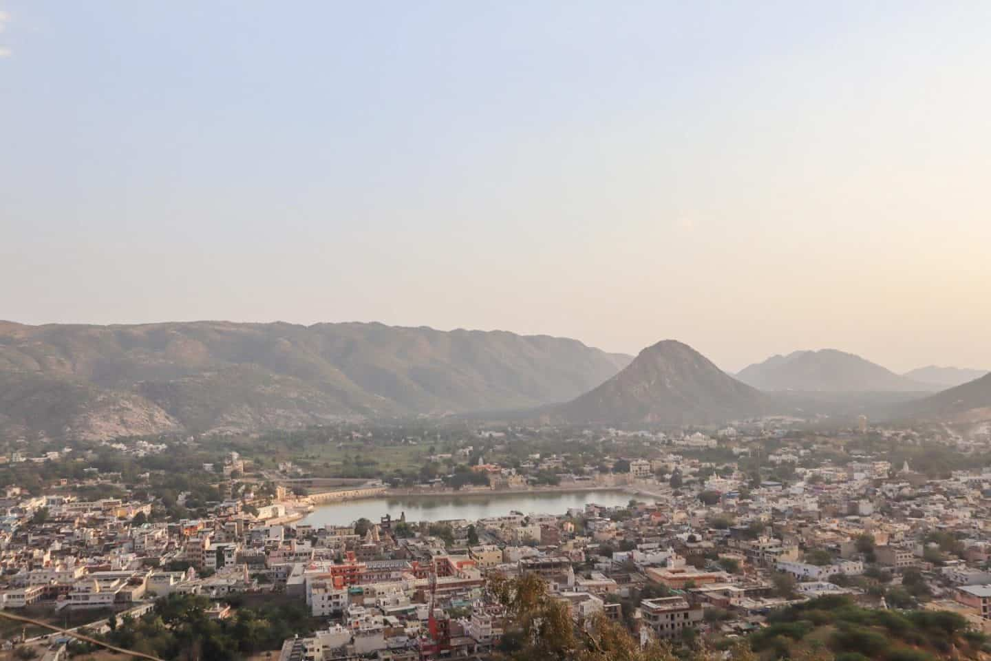 things to do in Pushkar sunset