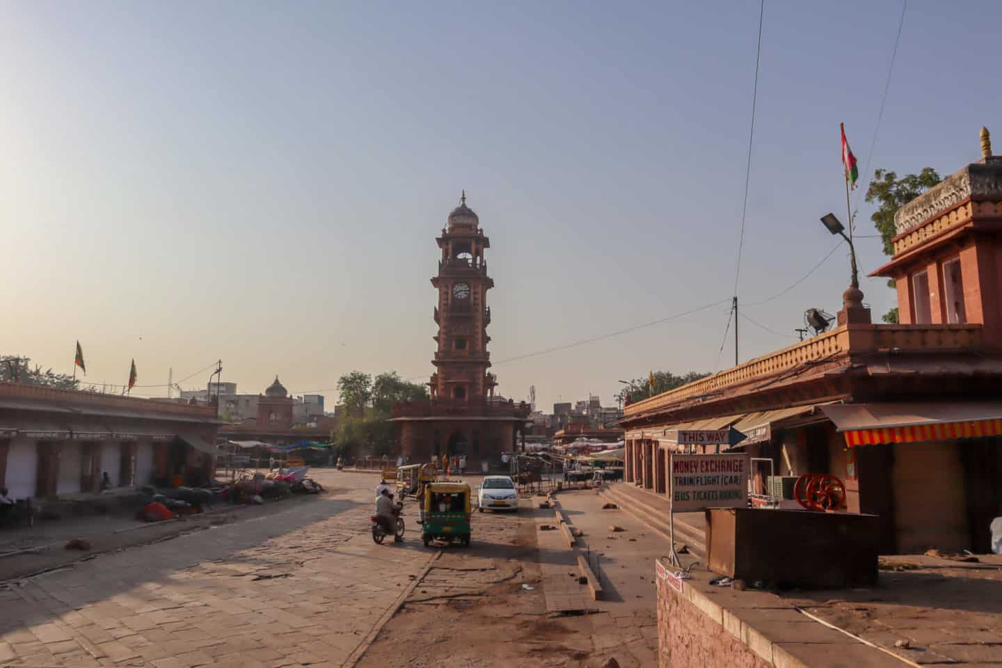 things to do in jodhpur Clock Tower Morning