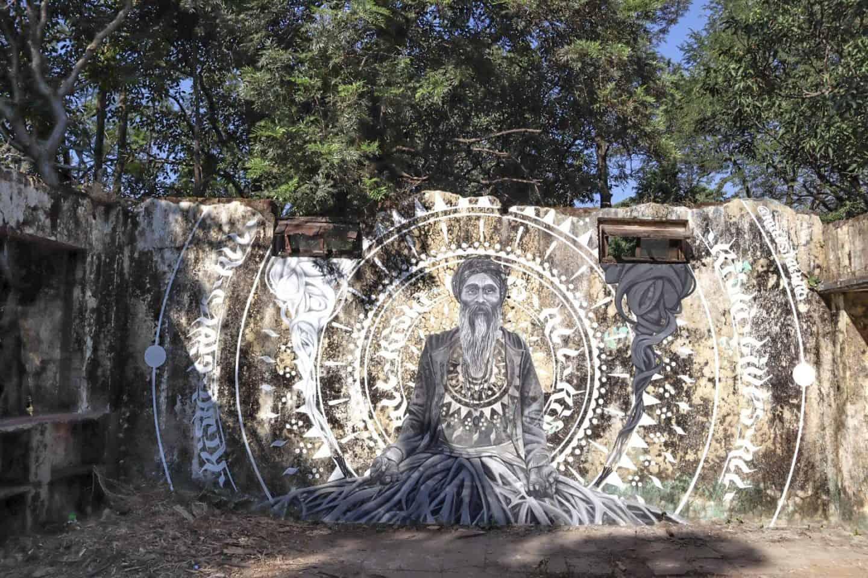 The Beatles Ashram Rishikesh Street Art