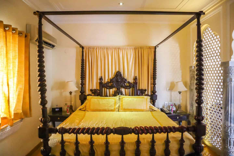 Shahpura House Hotel Jaipur Bedroom