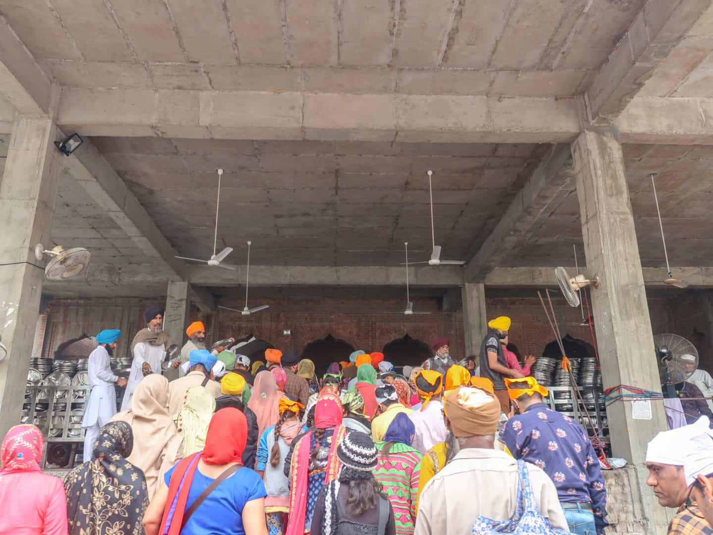 Golden Temple Amritsar Langar Kitchen